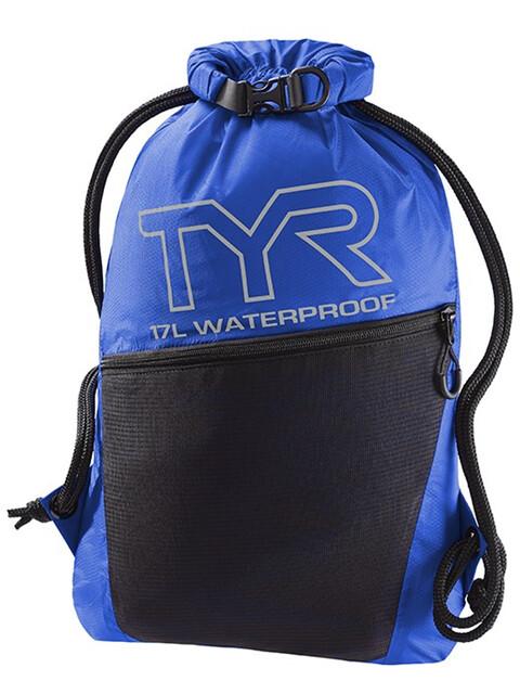 TYR Alliance Waterproof Torba niebieski/czarny